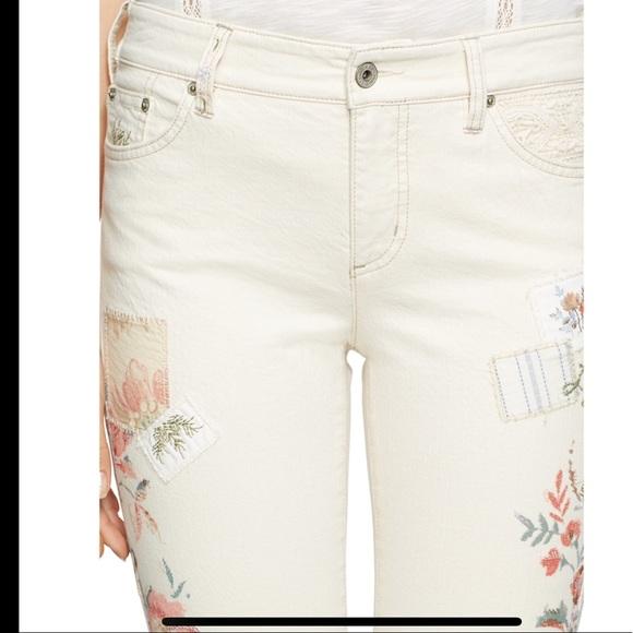 ec4eab93 Lauren Ralph Lauren Patchwork Stretch Skinny Jeans NWT